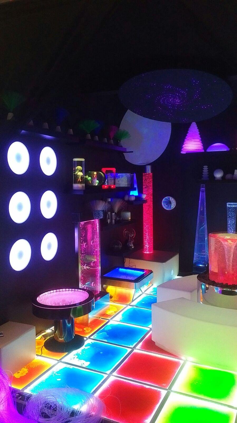 Sensory Integration Room Design: Sensory Room Ideas, Build Your Own Light Up Sensory Space