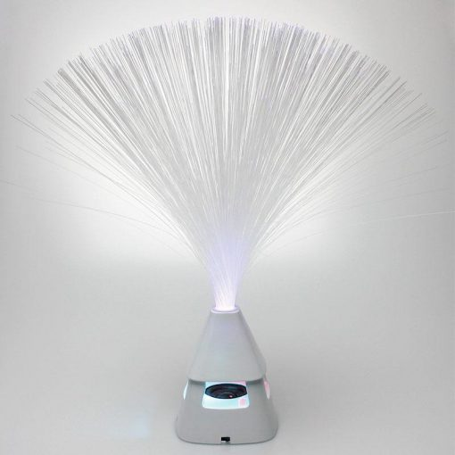 Tall Fibre Optic with Bluetooth Speaker and USB