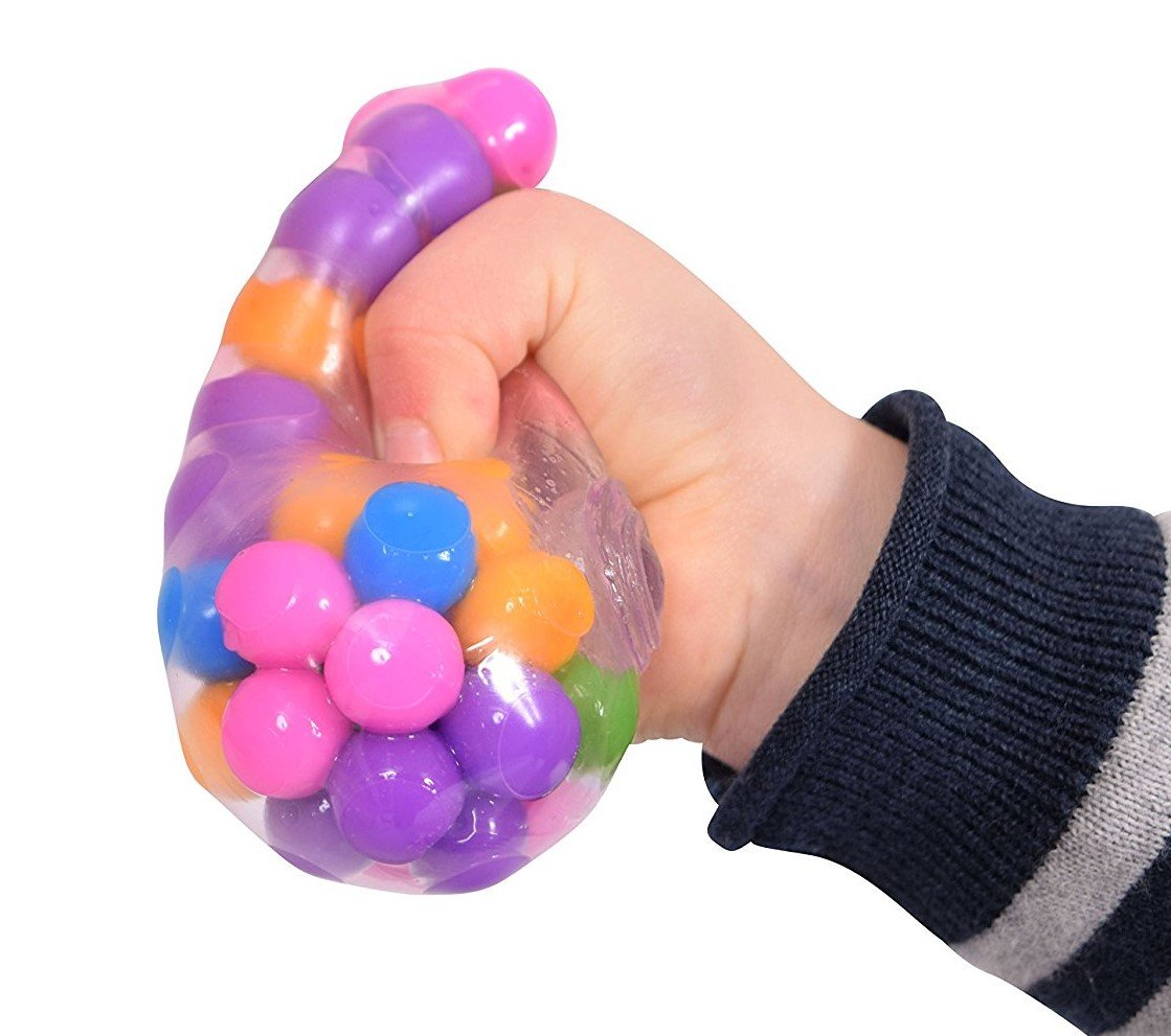 Squidgy Stress Ball - Sensory Toy for Stress Relief and ...